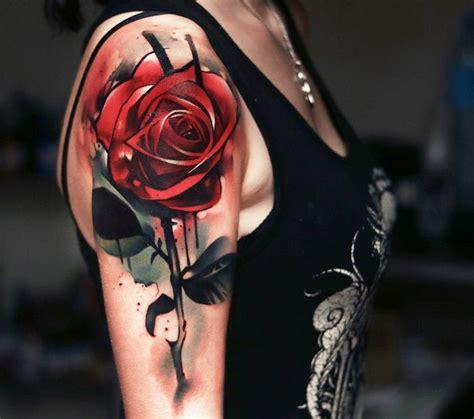 Blumen Oberarm 5330 blumen oberarm andrea1971 blumen tattoos