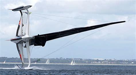 catamaran capsize mod70 spindrift capsizes blue water sailing