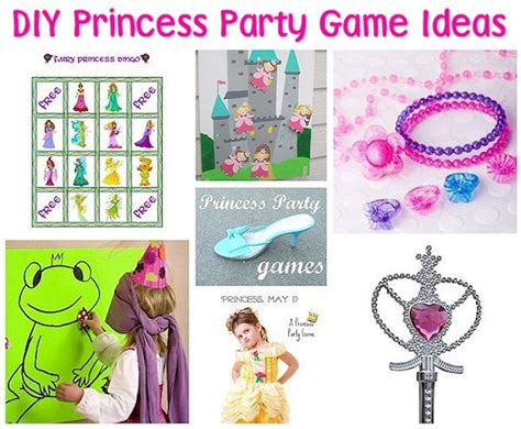 princess themed birthday games 35 diy princess party ideas about family crafts