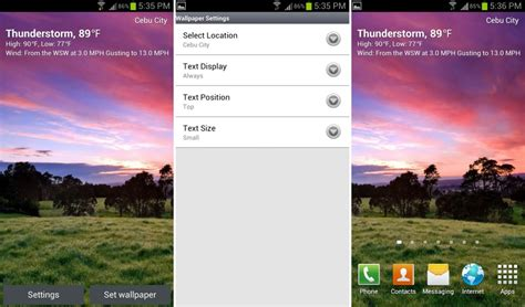 live weather apk best functional live wallpapers for android