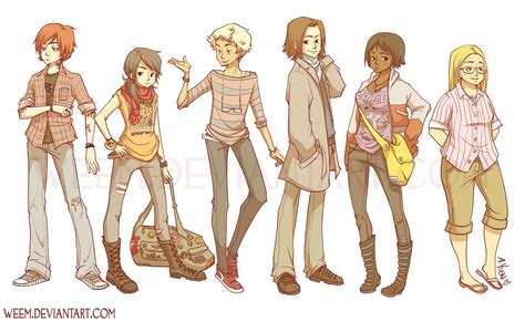 Or Characters Character Designs 2009 By Weem On Deviantart