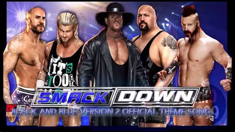 theme song smackdown 2015 wwe smackdown quot black blue quot 2014 2015 official intro