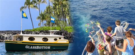 glass bottom boat tours oahu kailua bay charter co glass bottom boat cruise hawaii