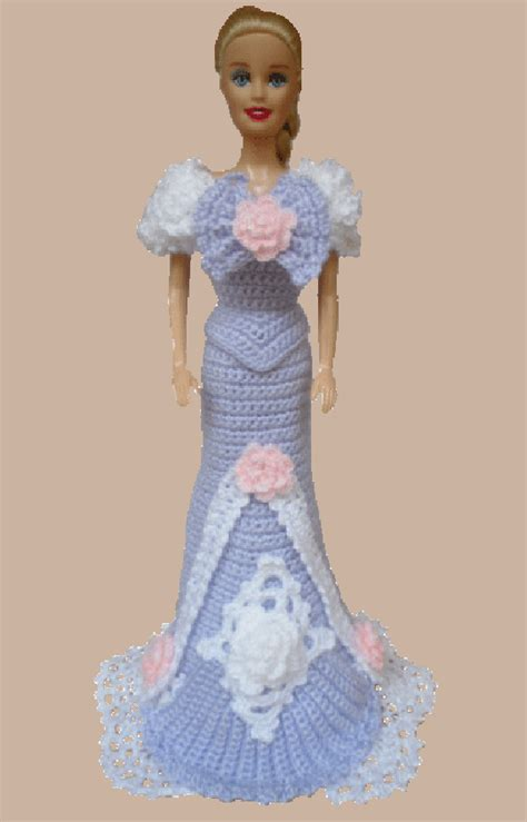 Crochet Evening Gown evening gown donna s crochet pages modas para