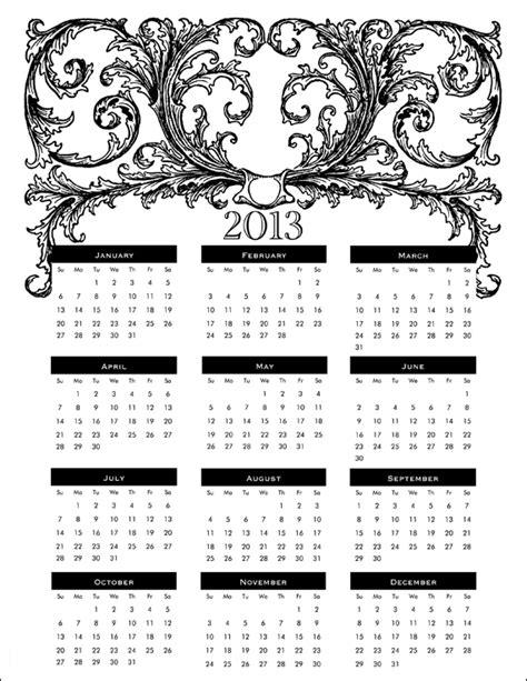 How Do You Print Calendar From Do You Printable 2013 Calendars Furniture Gallery