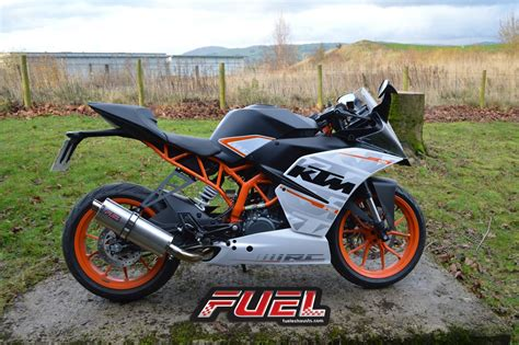 390 Rc Ktm Rc 390 2014 15 Motorbike Exhausts Fuel Exhausts