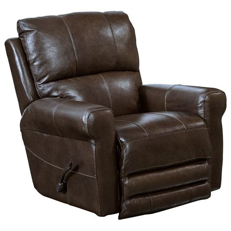 flat reclining chair catnapper motion chairs and recliners hoffner power lay