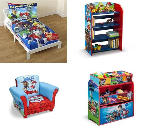 Paw Patrol Toddler Bedroom Set by Themed Bedroom Sets And This Paw Patrol Room