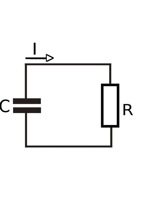 capacitor and resistor filter rc circuit
