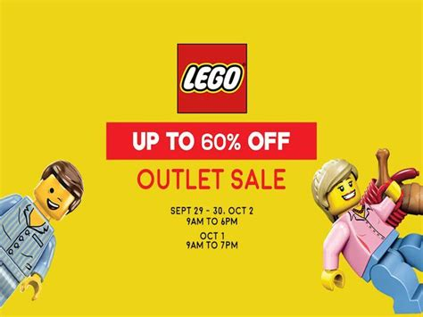 legos on sale lego outlet sale september 29 october 1 2016 manila