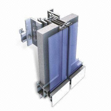unitized curtain wall installation china unitized curtain wall and curtain wall system cs ct