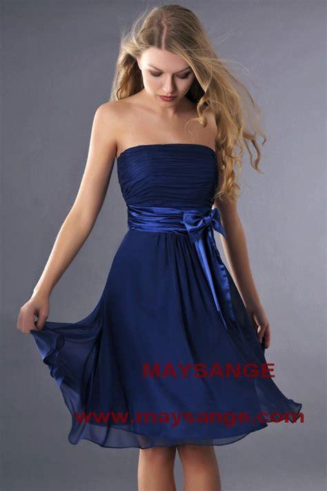Patron Robe De Cocktail Courte - robe bleu 233 lectrique robe de cocktail maysange 192 acheter