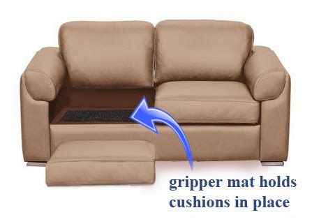 couch cushions slipping how to stop furniture sliding on hardwood and tile floors