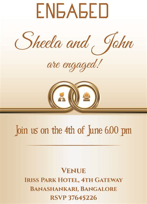 Wedding Invitations Ring Design by 13 Best Engagement Invitation Wordings Images On