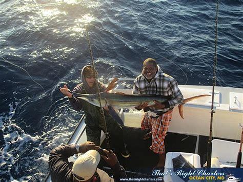 charter boat fishing ocean city md ocean city maryland charter boats group fishing charters