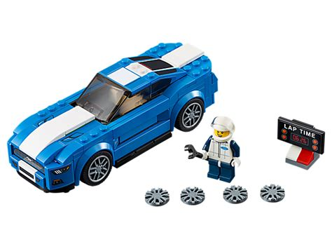 lego ford set ford mustang gt 75871 speed chions lego shop