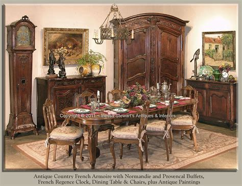 antique provencal armoire dining room antique furniture