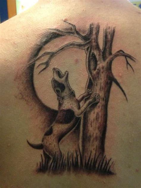 coon tattoo ogrejoe coon howl black and grey louisiana