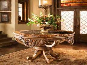 Round Entryway Table Change The Look Of Any Entryway