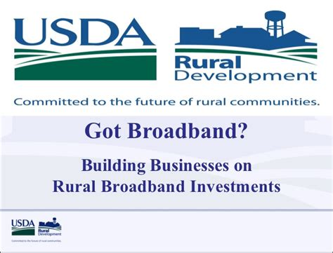 Usda Rual Development by Usda Rural Development Webinar Building Businesses On