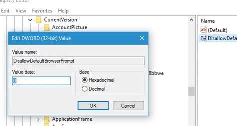 turn on or off make microsoft edge default browser prompt how to turn on off make microsoft edge your default