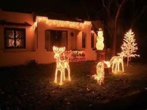 lighted christmas decorations for yard and indoor home