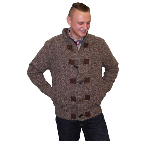 mens chunky knit cardigan fynch hatton s chunky knit cardigan nicholls
