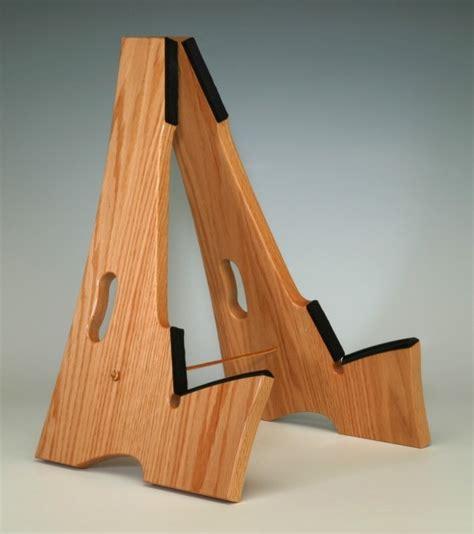 Guitar Rack Wood by Oak Wood Slay Frame Wood Guitar Stand
