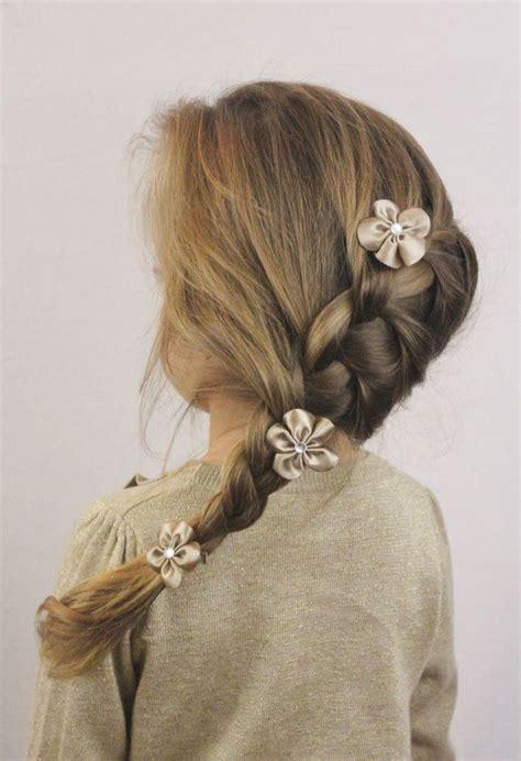 communion french braid bun 19 best flower girls images on pinterest hair updo hair