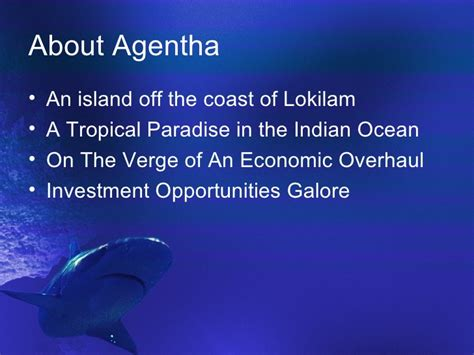 Shark Ppt Template For Powerpoint Presentation Shark Powerpoint Template