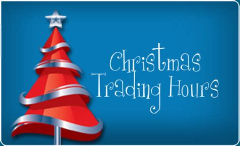christmas trading hr penrith plaza esteem hair spa trading hours