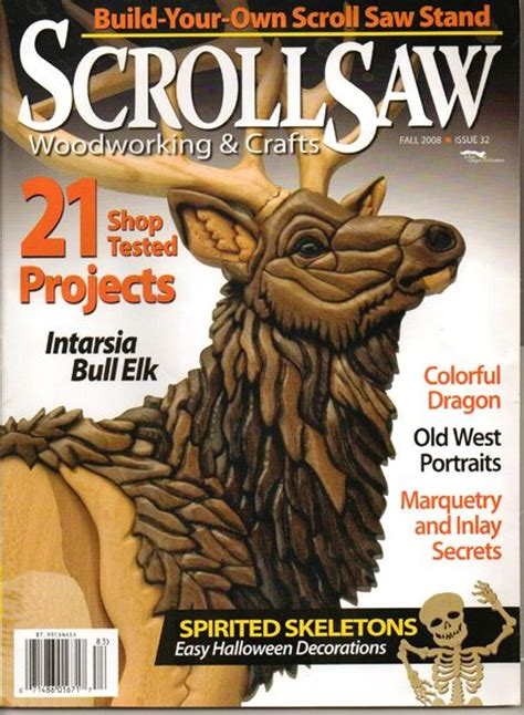 scroll saw woodworking magazine free scrollsaw woodworking crafts issue 032 pdf