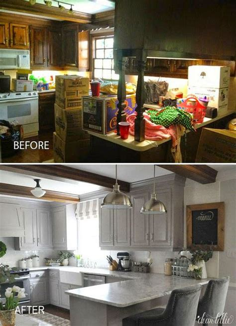 Pretty Before And After Kitchen Makeovers   Noted List