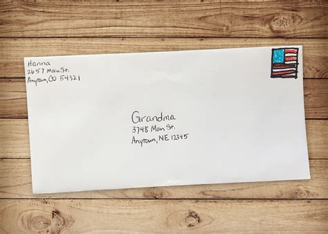Thank You Letter Envelope how to write a thank you note parentsavvy