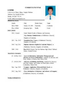 Resume Cover Letter Example by Curriculum Vitae