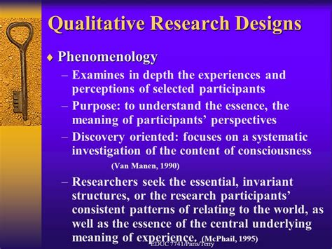 pattern analysis in qualitative research qualitative research educ 7741 paris terry ppt video