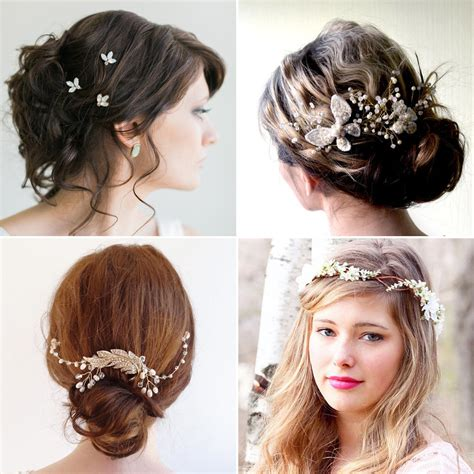 wedding hairstyle accessories affordable bridal hair accessories etsy popsugar