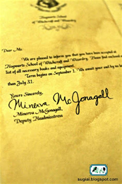 Harry Potter Crafts Acceptance Letter Sugiai Harry Potter Craft Downloadables