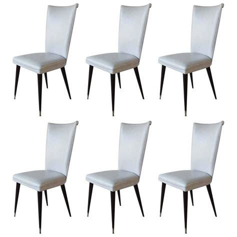 dining room chairs set of 6 set of six italian dining chairs for sale at 1stdibs