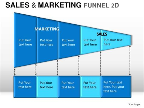 sales powerpoint presentation template sale and marketing funnel 2d powerpoint presentation