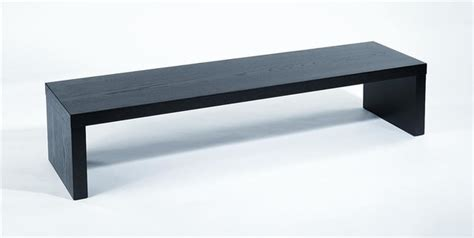 modern benches indoor modern parson s style media bench madison contemporary indoor benches by