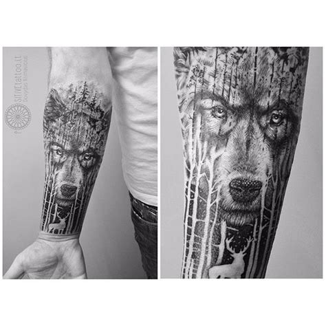 forest tattoo meaning wolf meaning wolf designs forest tattoos
