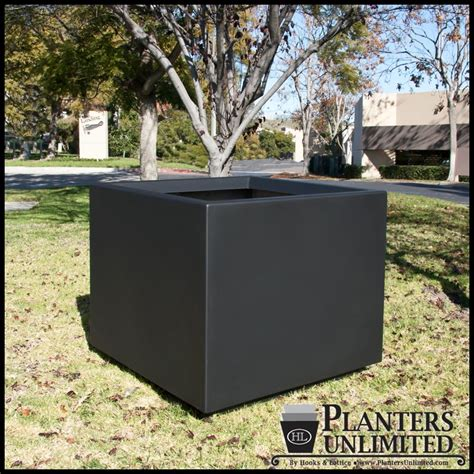 Large Commercial Planters by Large Fiberglass Planters Commercial Fiberglass Planter