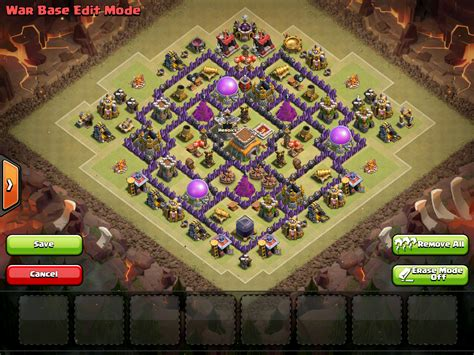 town hall 8 anti dragon war base clash of clans town hall 8 best bases 2016