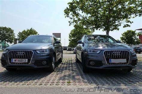 Auto Versicherung Q3 by Vergleich Audi Q3 Tdi Tfsi Im Test Offroader Tests