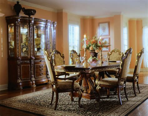 Antique Dining Room Decor Pulaski Royale Pedestal Dining Collection D575230