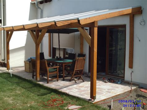Garage Canopy Awning Glued Laminated Timber Decking Canopy 3 Garden House