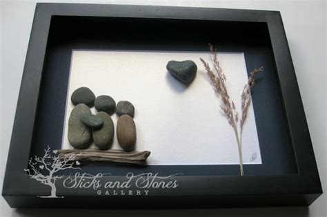 personalized gifts pebble art family gifts personalized family present unique