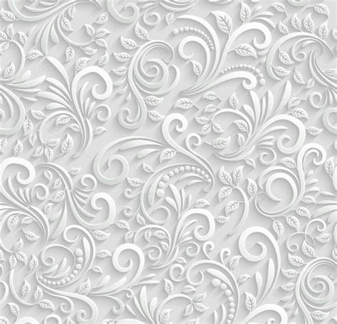 pattern wedding vector floral 3d seamless background by microvector on creative