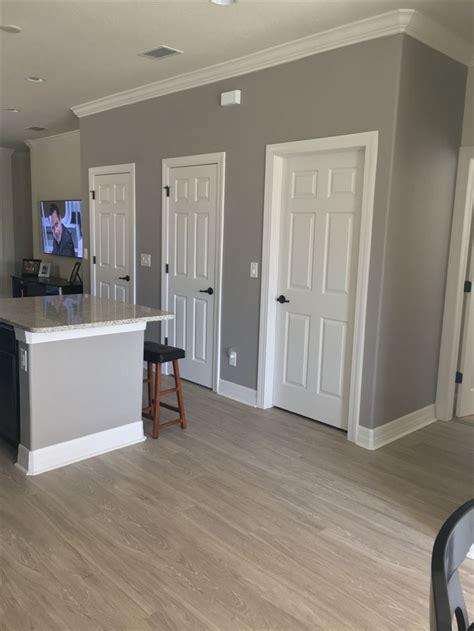 sherwin williams functional grey kitchen   paint